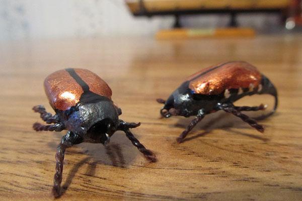 Снасти для ловли на имитации насекомых